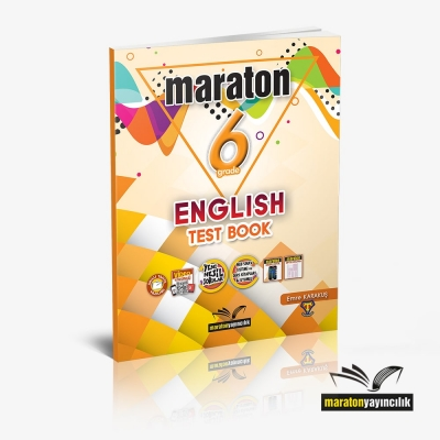 Maraton Grade 6 English Test Book