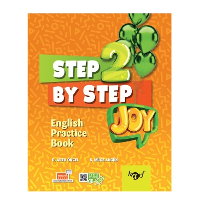 2.Sınıf Step By Step Joy English Practice Book