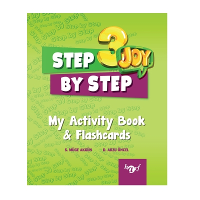 3.Sınıf Step By Step Joy English My Activity Book & Flashcards