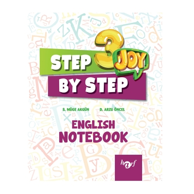 3.Sınıf Step By Step Joy English Notebook