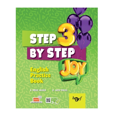 3.Sınıf Step By Step Joy English Practice Book