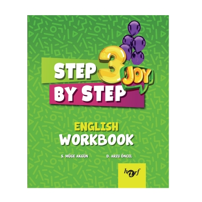 3.Sınıf Step By Step Joy English Workbook