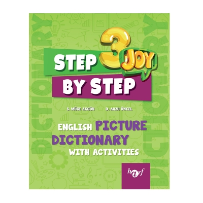 3.Sınıf Step By Step Joy English Picture Dictionary With Activities