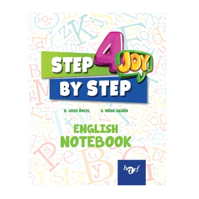 4.Sınıf Step By Step Joy English Notebook