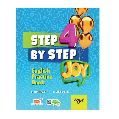 4.Sınıf Step By Step Joy English Practice Book