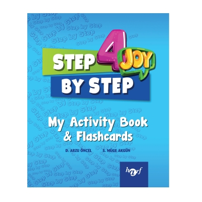 4.Sınıf Step By Step Joy English My Activity Book & Flashcards