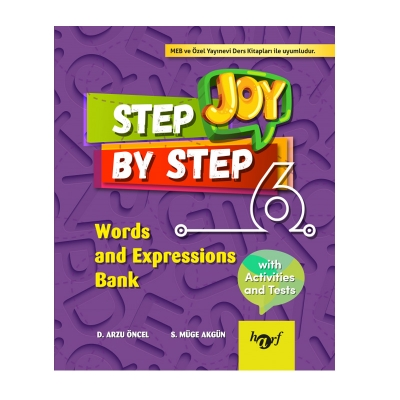6.Sınıf Step By Step Joy English Words and Expressions Bank