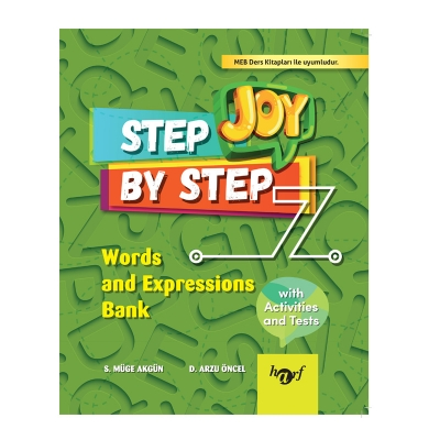 7.Sınıf Step By Step Joy English Words And Expressions Bank
