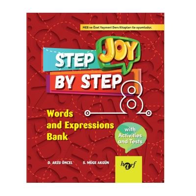 8.Sınıf Step By Step Joy English Words and Expressions Bank